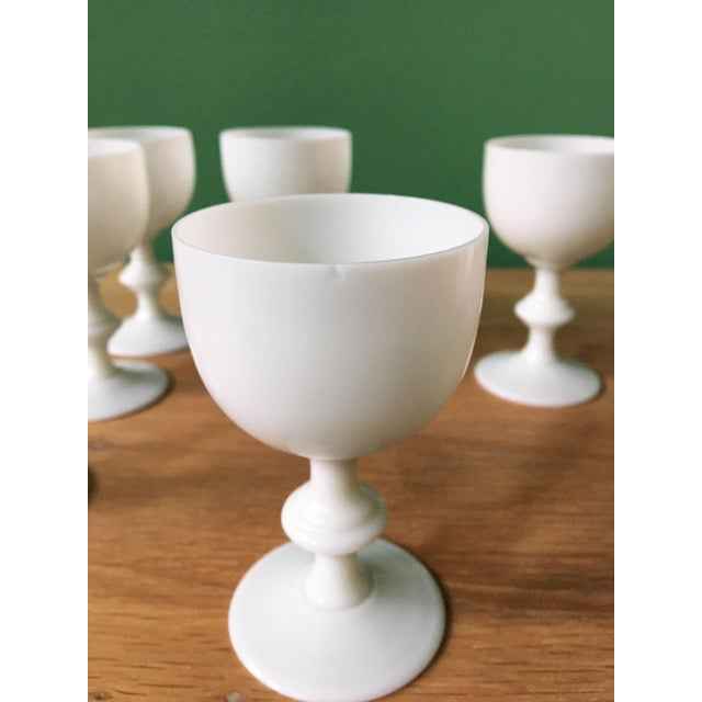 Portieux Vallerysthal French Portieux Vallerysthal White Wine Glasses - Set of 6 For Sale - Image 4 of 7