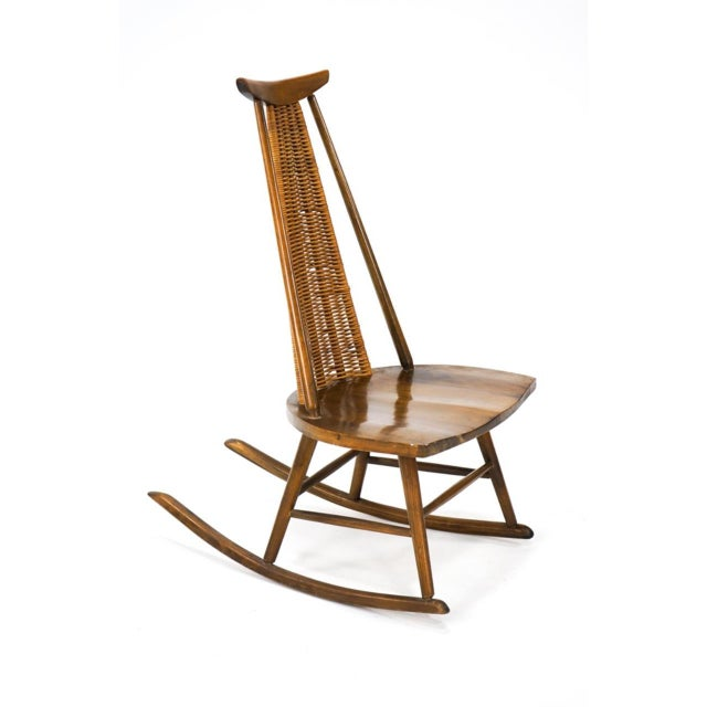 Vintage Arthur Umanoff for Washington Woodcraft Rocking Chair For Sale - Image 10 of 10