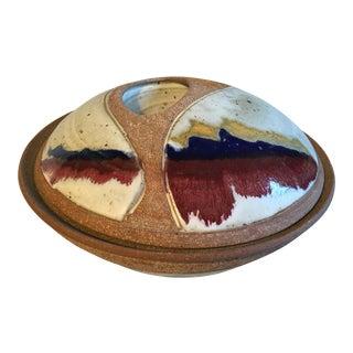 Mid-Century Style Studio Pottery Tureen For Sale