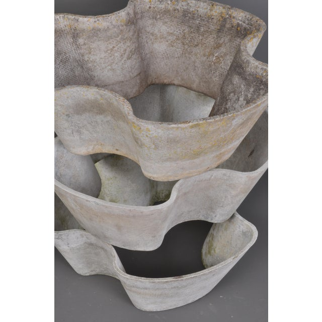 """""""Semiramis"""" Stackable Jardiniere by Eternit, Switzerland, 1960s For Sale In Boston - Image 6 of 11"""