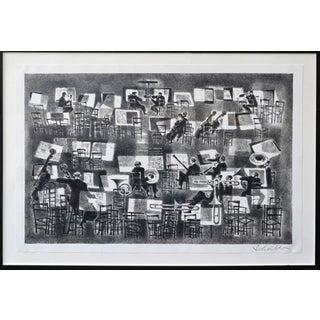 'The Intermission' Framed Artwork For Sale