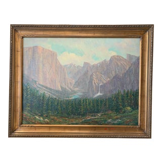 "William Dorsey ""Yoesmite"" Oil on Canvas Painting For Sale"