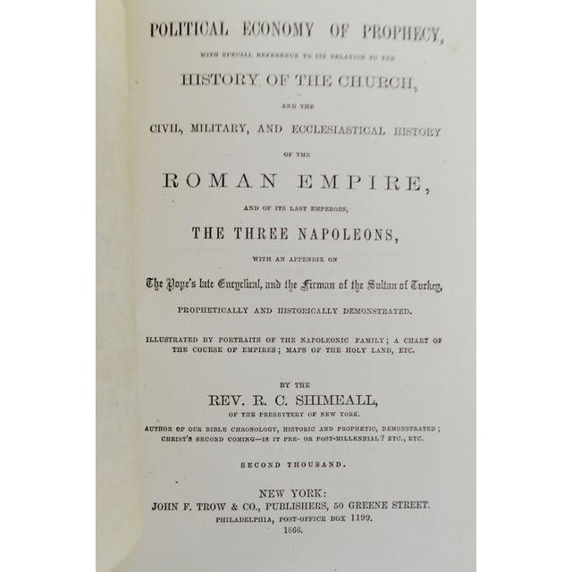 1866 'Prophetic Career and Destiny of Napoleon III' - Image 2 of 10