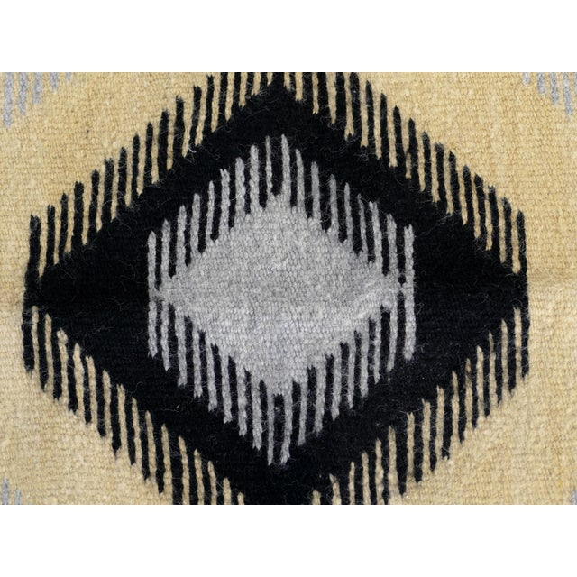 1940s 1940s Original Hand-Woven Navajo Rug For Sale - Image 5 of 8