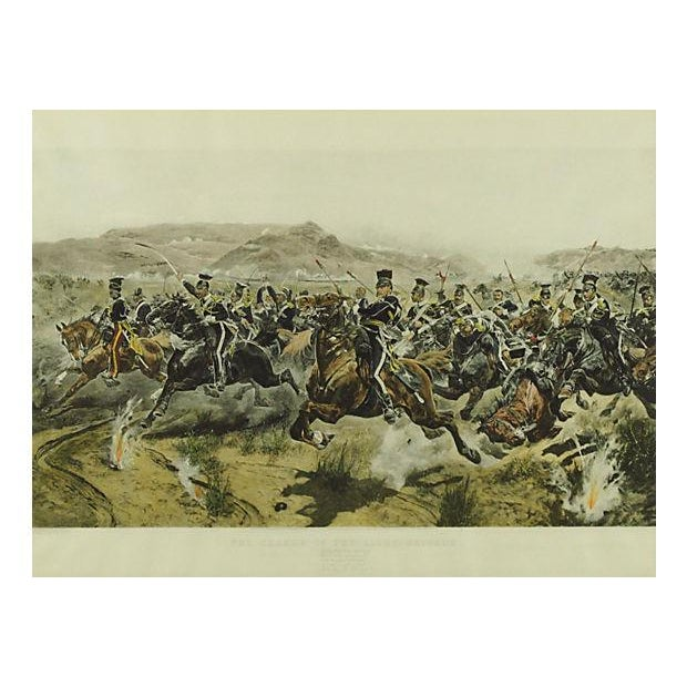 English Traditional Charge of the Light Brigade Engraving For Sale - Image 3 of 8