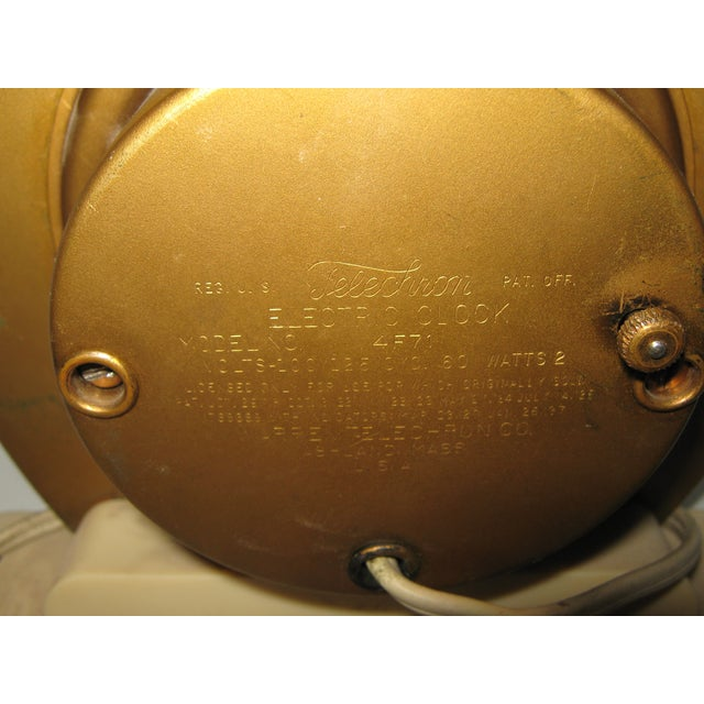 1930s Blue Mirror Telectron Electric Clock - Image 5 of 7