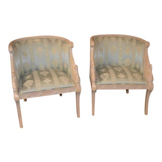 Swan Chairs by Andrea Originals - A Pair