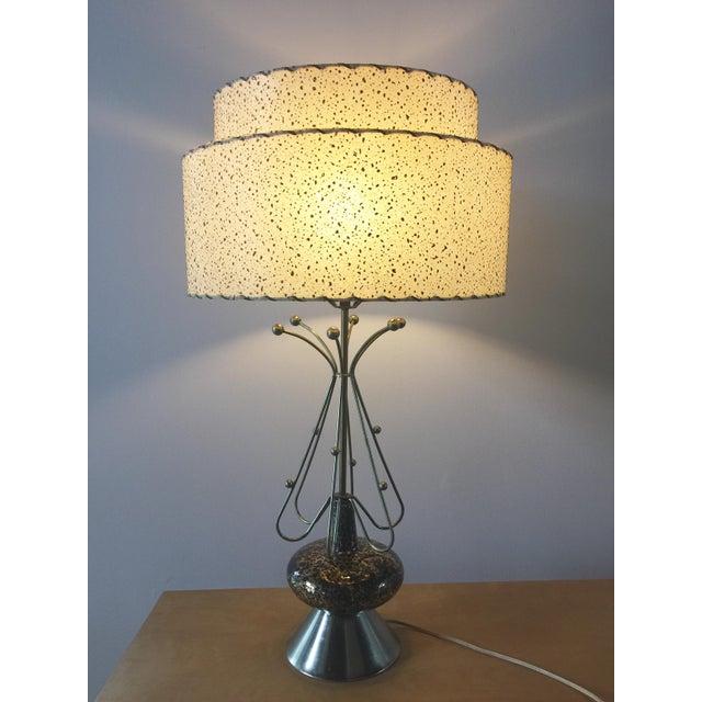 Mid-Century Modern Atomic Age Sputnik Table Lamp For Sale - Image 9 of 10
