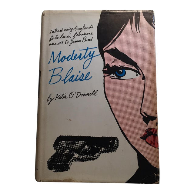 """1965 Peter O'Donnell """"Modesty Blaise"""" Book For Sale"""
