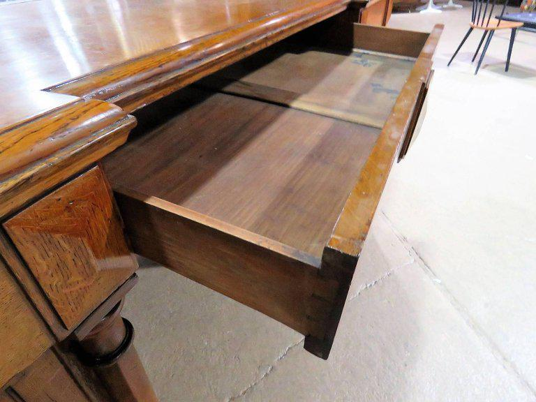 beautiful Gothic Vanity For Sale Part - 16: Gothic Style Oak Vanity With Mirror For Sale - Image 5 of 8