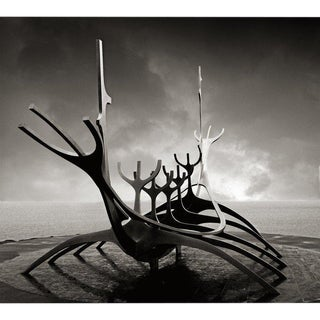 """Sun Voyager"" Sculpture as Captured by Photographer Jeffrey Glasser For Sale"