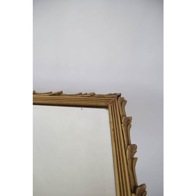 Antique Art Noveau Mirror - Image 8 of 9