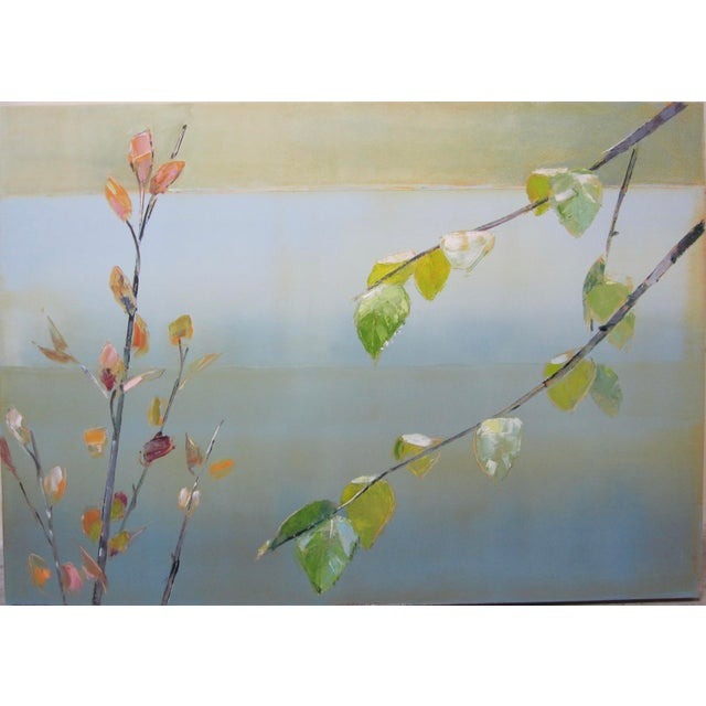 Oil Paint Stephen Pentak Tree Branches Contemporary Oil Painting For Sale - Image 7 of 7