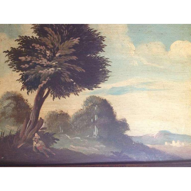 Late 19th Century Pair of 19th Century Italian Landscapes For Sale - Image 5 of 9