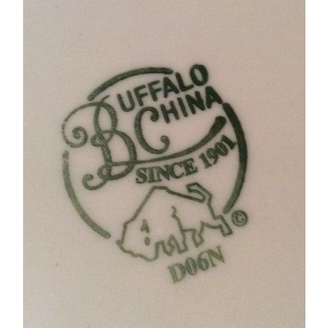 Vintage Buffalo China Mod Cow Plate - Image 4 of 4