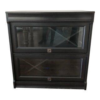 Pottery Barn Bar Cabinet For Sale