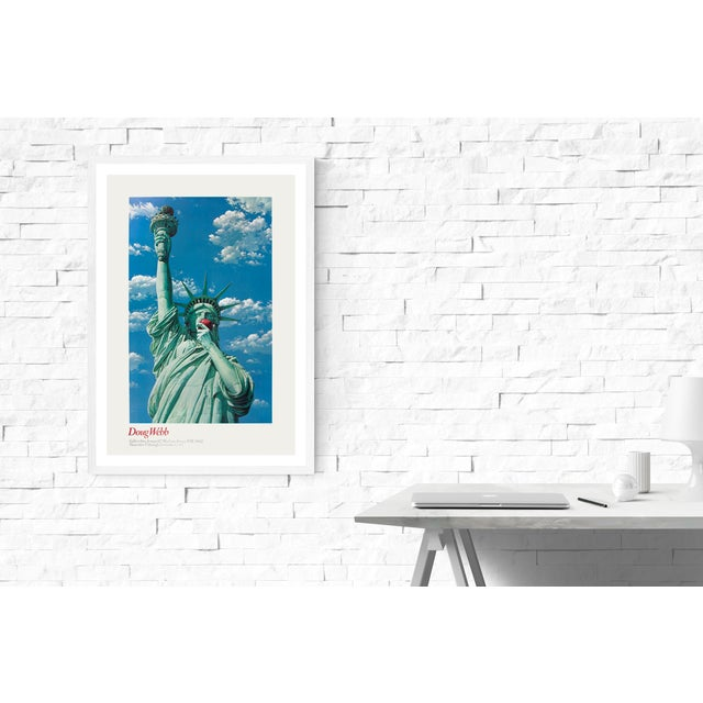 Modern Doug Webb-Miss Liberty-1981 Poster For Sale - Image 3 of 3