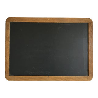 Antique School Slate Chalk Board