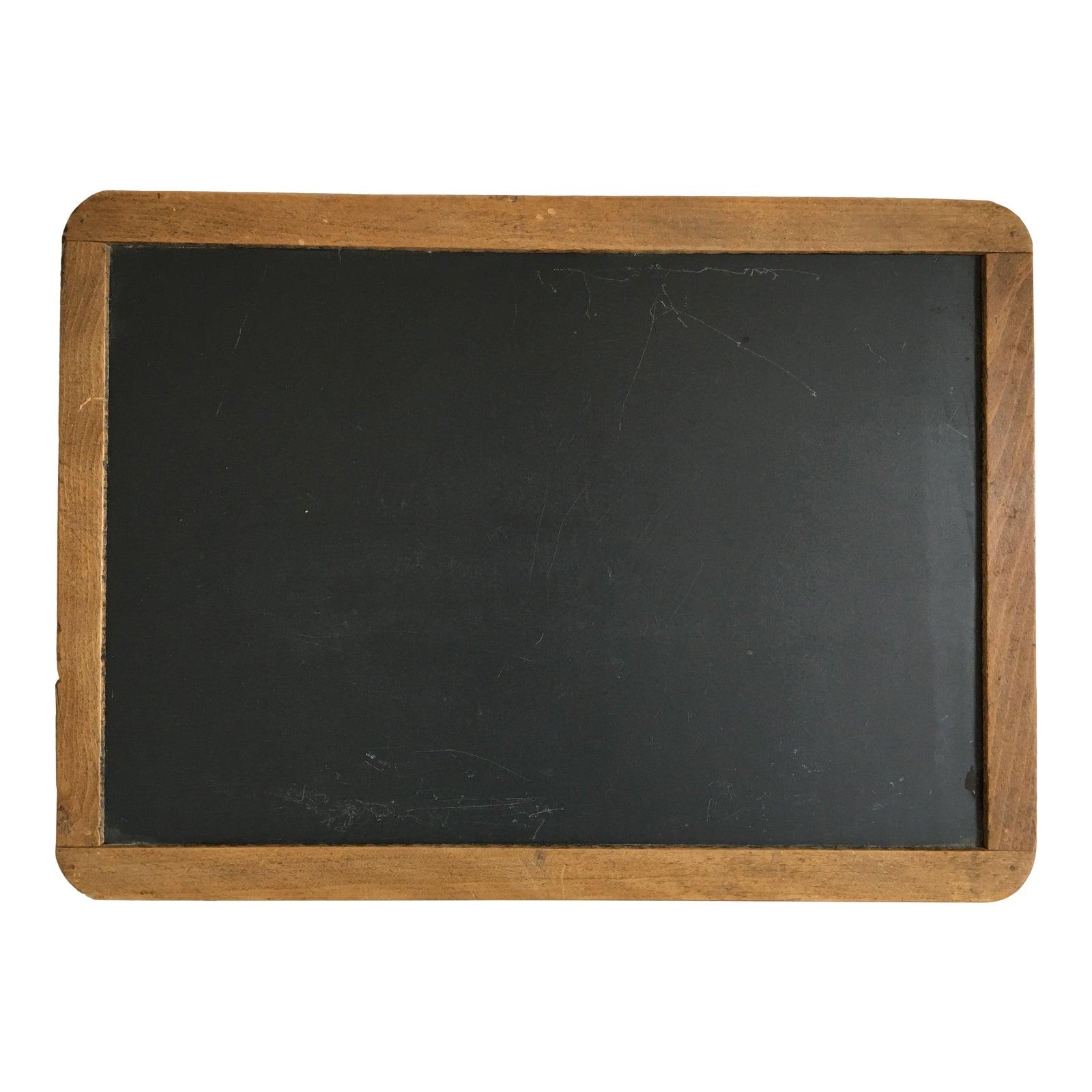 Moving Sale Antique School Slate Chalk Board Chairish
