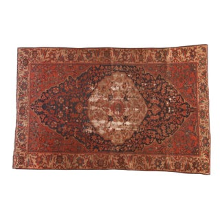 """Antique Malayer Rug - 3'11"""" X 6'4"""" For Sale"""
