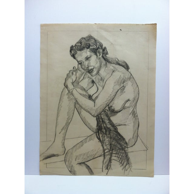 1960s Vintage Bare Breast - in Thought Tom Sturges Jr
