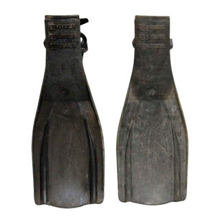 Rubber Mares Flippers - A Pair For Sale