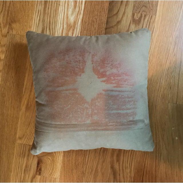 Blue Vintage Turkish Kilim Pillows - Set of 3 For Sale - Image 8 of 9
