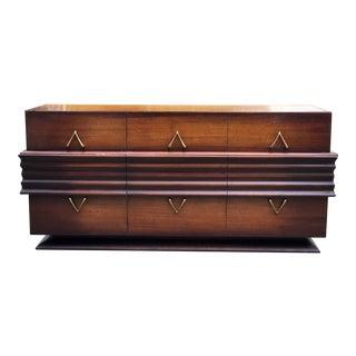 Mid-Century 'Wishbone' Dresser Attr. To Osvaldo Borsani For Sale