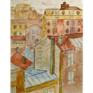 Paris Rooftops For Sale