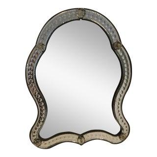 Antique Venetian Vanity Mirror For Sale