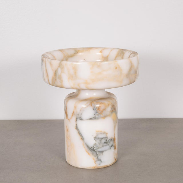 Angelo Mangiarotti Marble Vase for Knoll International C.1960 For Sale In San Francisco - Image 6 of 8
