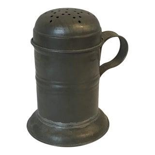 Antique Tole Sugar Shaker For Sale