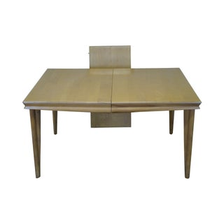 Heywood Wakefield Champagne Maple Dining Table For Sale