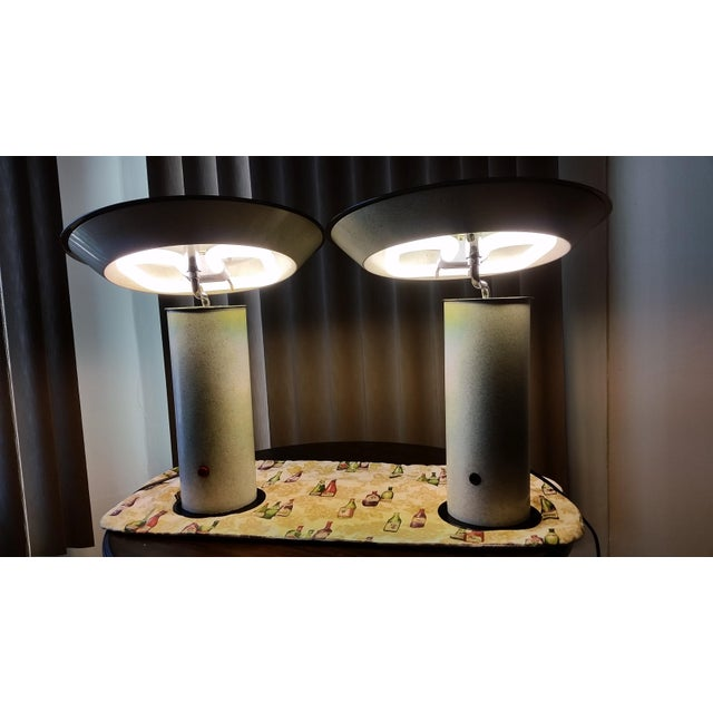 Silver Vintage Stilnvo Table Lamps - A Pair For Sale - Image 8 of 8