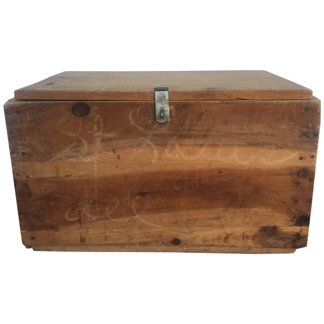 Wood Storage Box from U.S. Department of Commerce - Image 1 of 10