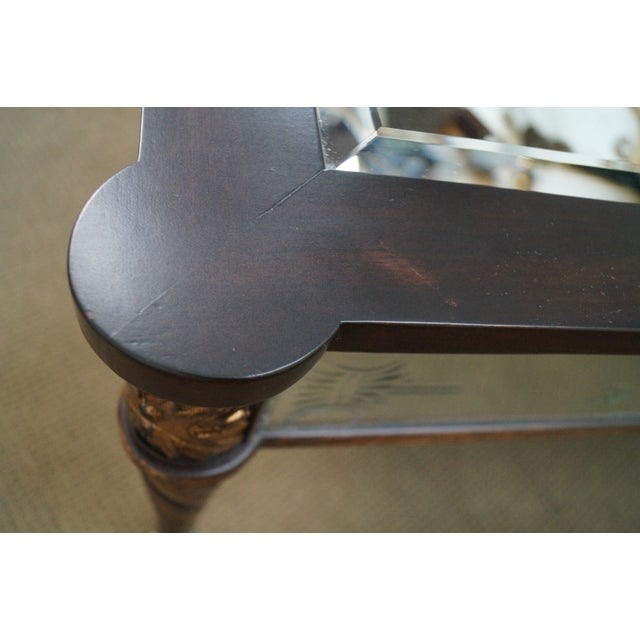 Regency Style Mirror & Gilt Claw Foot Coffee Table - Image 9 of 10
