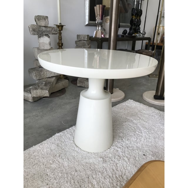 Modern Signed Holly Hunt End Table For Sale - Image 3 of 10