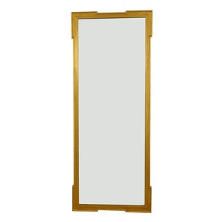 Handmade, Antique Gold Wood Frame Mirror For Sale