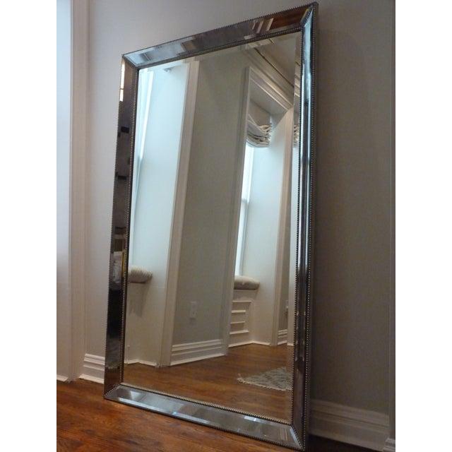 Restoration Hardware Venetian Bead Floor Mirror - Image 2 of 4