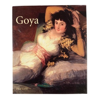Goya Spanish Masters Fred Licht Coffee Table Art Book For Sale