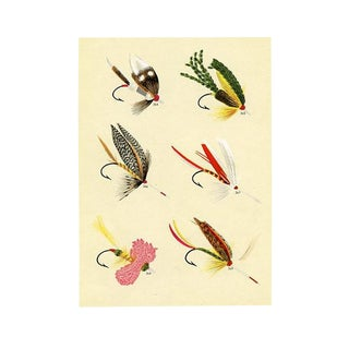 Bass Fishing Flies by Charles Orvis For Sale