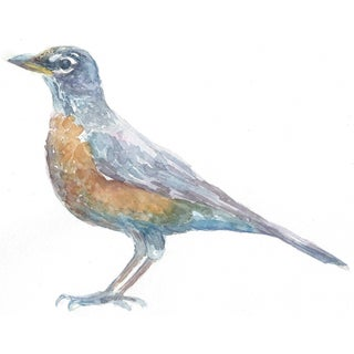 """Watercolor Painting of """"Robin"""" by Lexie Armstrong"""