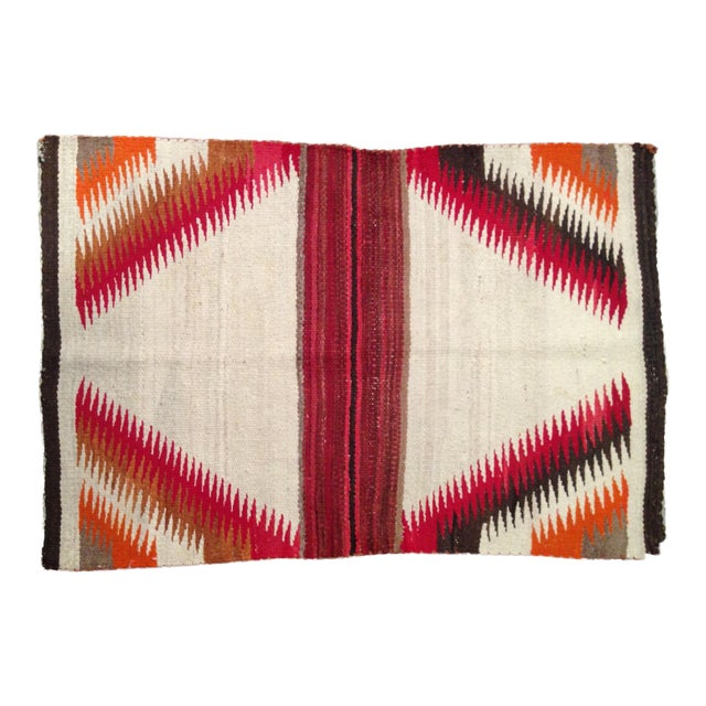 "Antique 1930s Navajo Rug - 2'4"" X 3'6"" For Sale"