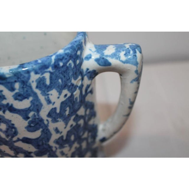 19th Century Sponge Ware Pitcher from Pennsylvania For Sale - Image 4 of 5