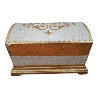 Italian Florentine Domed Box