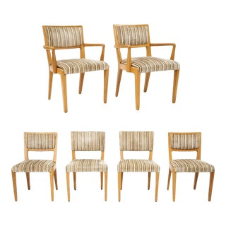 Mid-Century Dinning Chairs Designed by Drexel Co - Set of 6 For Sale