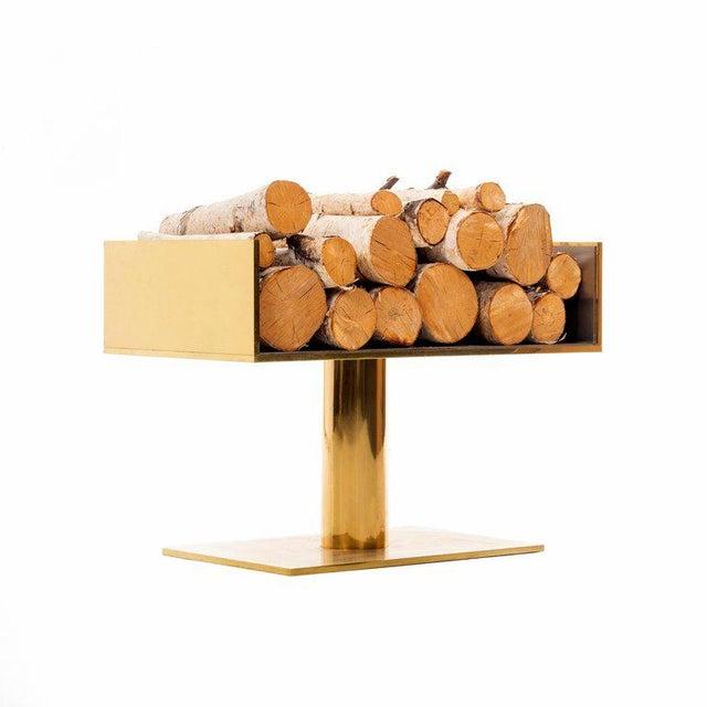 Modern Warren Platner Log Holder For Sale - Image 3 of 7