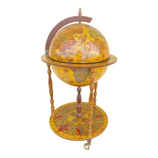 1960s Italian Globe Dry Bar For Sale
