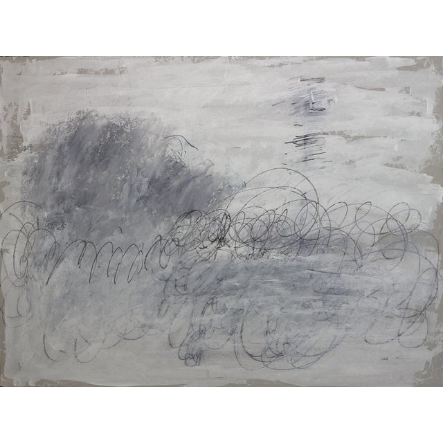 """""""November"""" - Original Abstract Drawing by Carolyn Reed Barritt For Sale"""