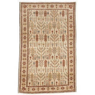 """Bakhshayesh Hand-Knotted Luxury Rug - 5'6"""" X 8'10"""" For Sale"""